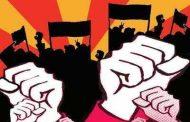 ಭಾರತ್ ಬಂದ್ ಹಿನ್ನೆಲೆಯಲ್ಲಿ ಕಾರ್ಮಿಕ ಸಂಘಟನೆಗಳಿಂದ ಬೆಂಗಳೂರಿನ ಫ್ರೀಡಂ ಪಾರ್ಕ್ನಲ್ಲಿ ಪ್ರತಿಭಟನೆ
