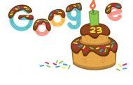 23ನೇ ಬರ್ತ್ ಡೇ ಆಚರಿಸಿಕೊಳ್ಳುತ್ತಿರುವ ಜನಪ್ರಿಯ ಸರ್ಚ್ ಎಂಜಿನ್ 'ಗೂಗಲ್'..!: Happy Birthday Google